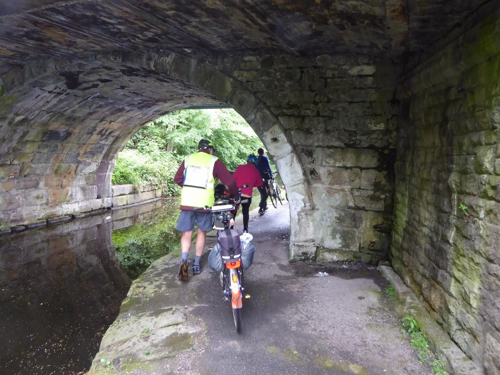Low headroom on Leeds Manchester Canal