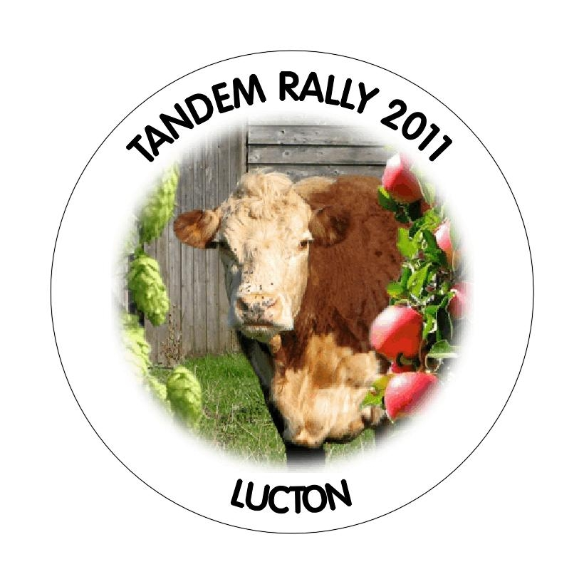 Lucton rally badge