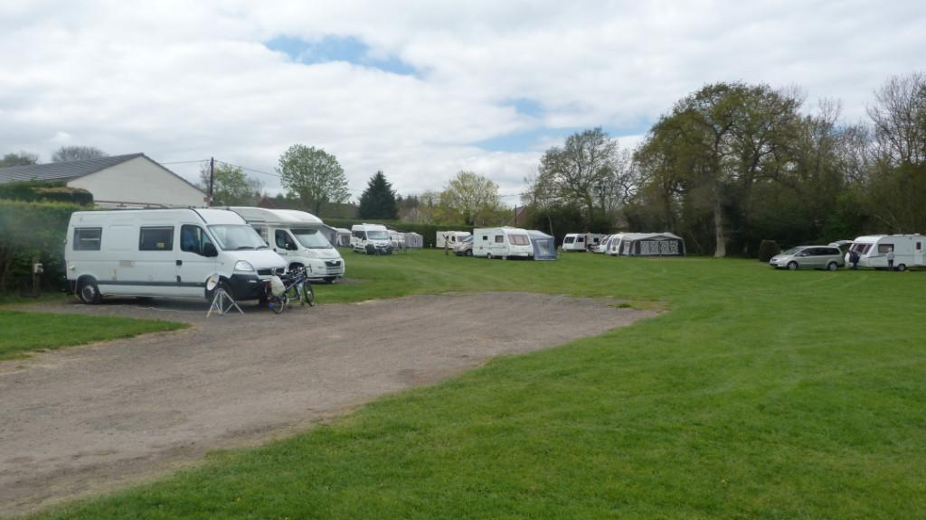 Easter 2017 - Bishops Green Camp Site