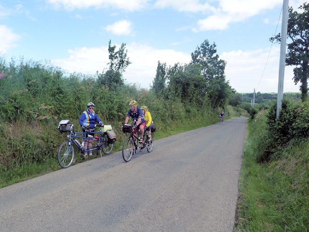 en route to Villedieu les Poeles
